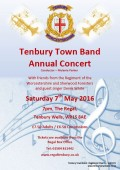 Annual Concert Saturday 7th May 2016