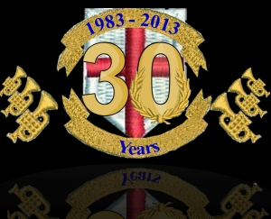 30th Anniversary Logo - Tenbury Town Band