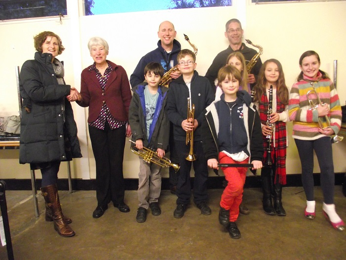 Apprentice Group with Janet Lee form the RDA 2015