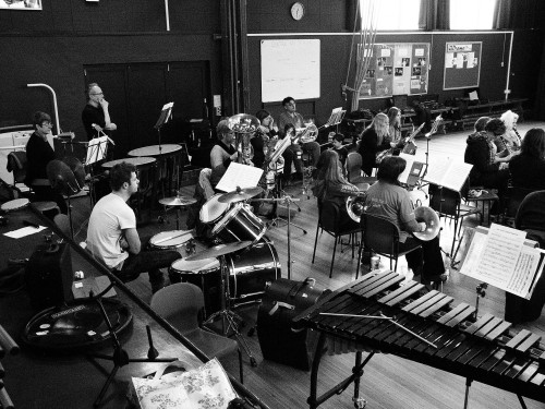 Music Workshop at Tenbury High School