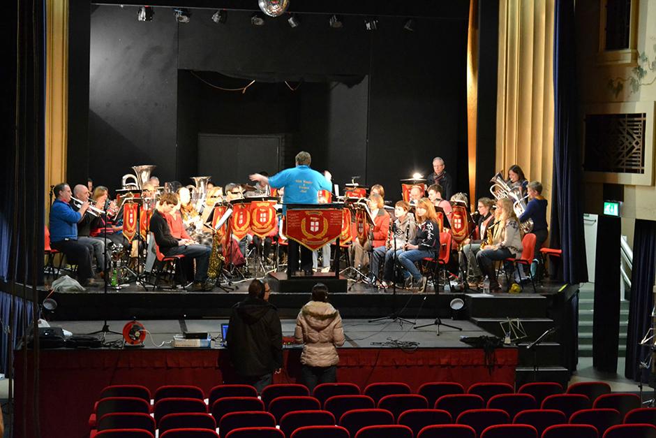 Christmas Concert Rehersal