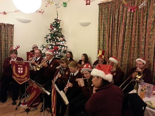 Culmington Village Hall for their Christmas Fayre
