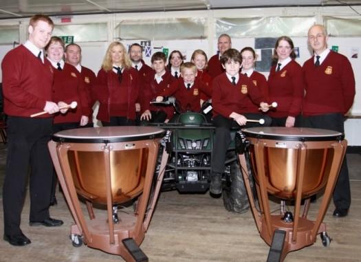 Tenbury Town Band and Timpnai Drums