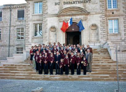 Tenbury Town Band in Pont du Casse 2005